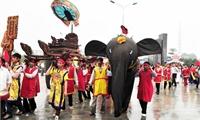 Lễ hội rước voi làng Đào Xá (Thanh Thủy)