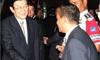 Chủ tịch nước bắt đầu các hoạt động tại Hội nghị APEC 21