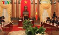 Chủ tịch nước tiếp đoàn Bộ trưởng tham dự Hội nghị APEC