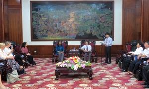 Đoàn SOS Quốc tế thăm và làm việc tại Phú Thọ