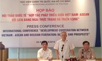 Tổ chức hội thảo quốc tế về quan hệ Việt Nam, ASEAN-Liên bang Nga(16/09/2014)