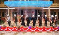 Lễ khởi công xây dựng 6 phòng học trường THCS  Chân Mộng