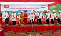 Khởi công xây dựng trạm bơm tiêu Bình Bộ từ nguồn vốn vay của chính phủ Ấn Độ