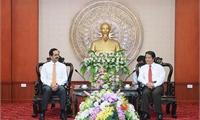 Lãnh đạo tỉnh Phú Thọ làm việc với sứ quán và các đối tác Ấn Độ