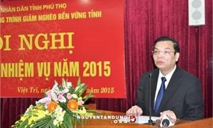 Chủ tịch Phú Thọ lên Thứ trưởng