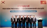 Việt Nam đánh giá cao trách nhiệm xã hội của doanh nghiệp Hàn Quốc
