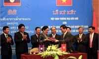 Phê duyệt Hiệp định thương mại biên giới Việt Nam-Lào