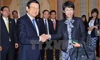 Chủ tịch nước Trương Tấn Sang tiếp đoàn doanh nghiệp Nhật Bản