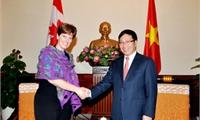 Việt Nam mong muốn thúc đẩy quan hệ toàn diện và thực chất với Canada