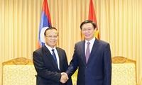 Hợp tác giữa Bộ Tài chính Việt Nam và Lào đạt hiệu quả cao