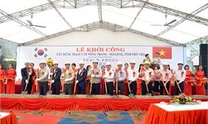 Lễ khởi công xây dựng Trạm y tế Nông Trang – Seegene tỉnh Phú Thọ