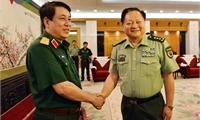 Đoàn cán bộ cấp cao Quân đội thăm hữu nghị Trung Quốc