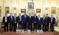 Chủ tịch nước Trần Đại Quang kết thúc chuyến thăm cấp Nhà nước đến Ai Cập
