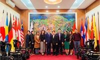 Tổ chức GPI thăm và chúc Tết Sở Ngoại vụ tỉnh Phú Thọ