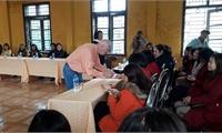 Tổ chức COPI thăm hỏi, động viên cán bộ Trung tâm Bảo trợ trẻ em  mồ côi khuyết tật thành phố Việt Trì nhân dịp Tết Kỷ Hợi.
