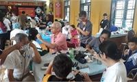 Tổ chức COPI - Mỹ thực hiện chương trình khám bệnh,  phát thuốc miễn phí cho cán bộ, học sinh tại Trung tâm Bảo trợ trẻ em  mồ côi, tàn tật thành phố Việt Trì