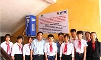 Văn phòng Hessen - Cộng hòa Liên bang Đức tại Việt Nam tài trợ, lắp đặt máy lọc nước tại Trường THCS Chân Mộng, huyện Đoan Hùng và Trường THCS Động Lâm, huyện Hạ Hòa.