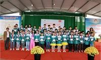Trường THCS Vân Phú - Manduk đón đoàn sinh viên trường Đại học Quốc gia Jeju (Hàn Quốc) tới hoạt động tình nguyện