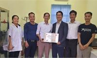 """Tổ chức COPION (Hàn Quốc) tài trợ dự án  """"Nâng cấp & tài trợ trang thiết bị cho phòng y tế học đường"""""""