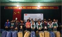 """Chương trình """"Tặng chăn ấm mùa đông cho học sinh xã Tu Vũ, huyện Thanh Thủy, Phú Thọ"""