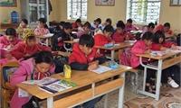 Tổ chức LDSC thực hiện đánh giá hiệu quả dự án tại trường Tiểu học Yên Dưỡng, huyện Cẩm Khê.