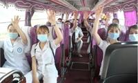 Chi viên thêm nhân lực y tế cho tuyến đầu Bắc Giang