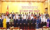 Bầu các chức danh chủ chốt của HĐND, UBND và Hội thẩm nhân dân tỉnh khóa XIX
