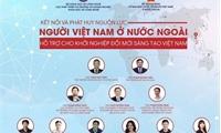 Kết nối và phát huy nguồn lực người Việt Nam ở nước ngoài cho khởi nghiệp đổi mới sáng tạo