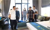 Bí thư Tỉnh ủy kiểm tra việc thực hiện dự án Khu du lịch Biệt thự sinh thái nghỉ dưỡng Vườn Vua
