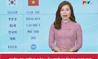 Cuộc thi tiếng Hàn lần thứ I - Phú Thọ năm 2021.