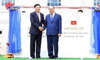 Nhà Quốc hội Lào - món quà ý nghĩa của Việt Nam dành tặng Lào