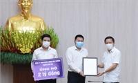 Công ty TIANYU ủng hộ Quỹ phòng, chống dịch COVID Phú  Thọ 2 tỷ đồng