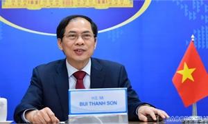 Thư của Bộ trưởng Bộ Ngoại giao Bùi Thanh Sơn