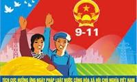 Hưởng ứng Ngày Pháp luật nước Cộng hoà xã hội chủ nghĩa Việt Nam năm 2021