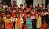 Tổ chức KFHI/Hàn Quốc trao tặng sách giáo khoa và khẩu trang y tế cho học sinh, giáo viên vùng dự án tại huyện Thanh Sơn, Thanh Thủy.